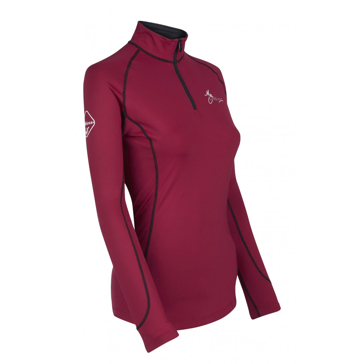 be1355837 LeMieux Base Layer Mulberry