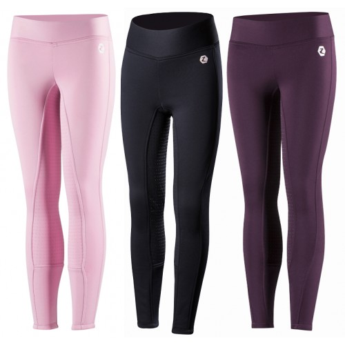 horse-active-winter-junior-silicon-tights