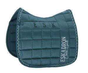 eskadron-biq-square-glossy-teal-saddle-pad