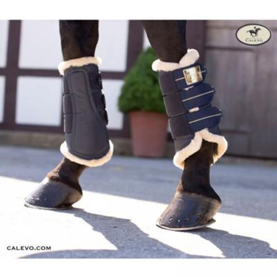 Eskadron Faux Fur Tendon Boots