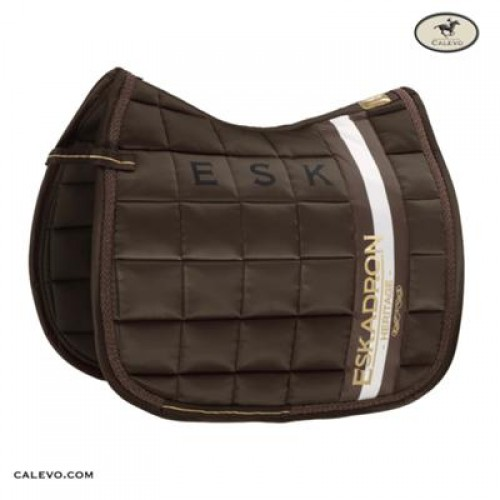 Eskadron Big Square Saddle Cloth Black Mocca