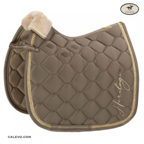 Eskadron Heritage Brand Saddle Cloth Taupe