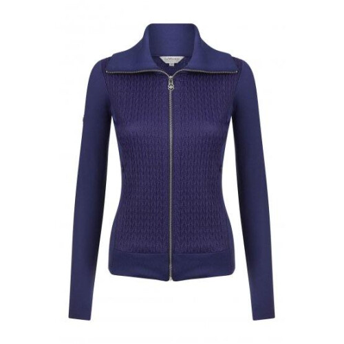 ink blue loire jacket